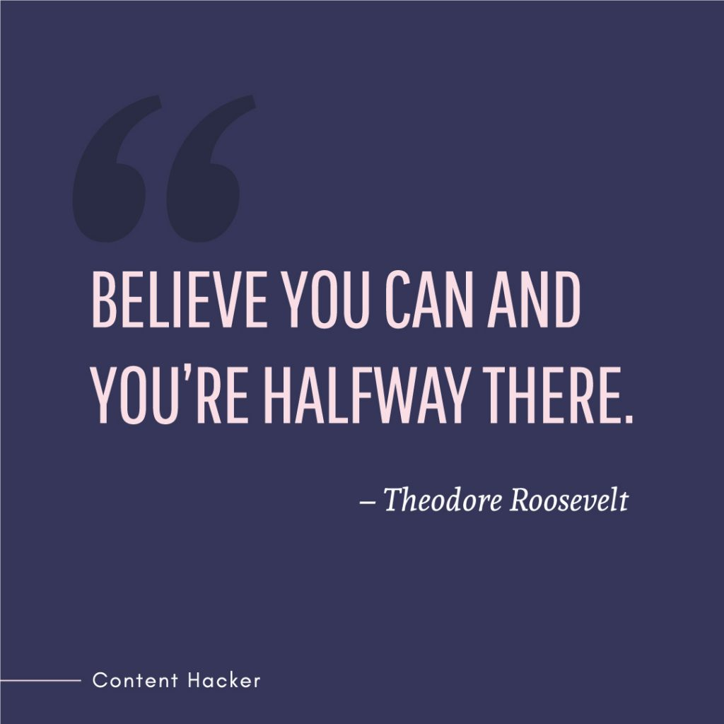 hustle quote theodore roosevelt