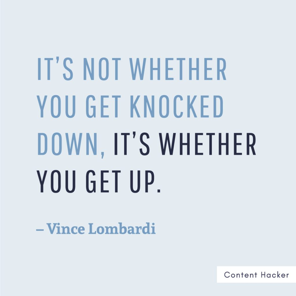 hustle quote vince lombardi