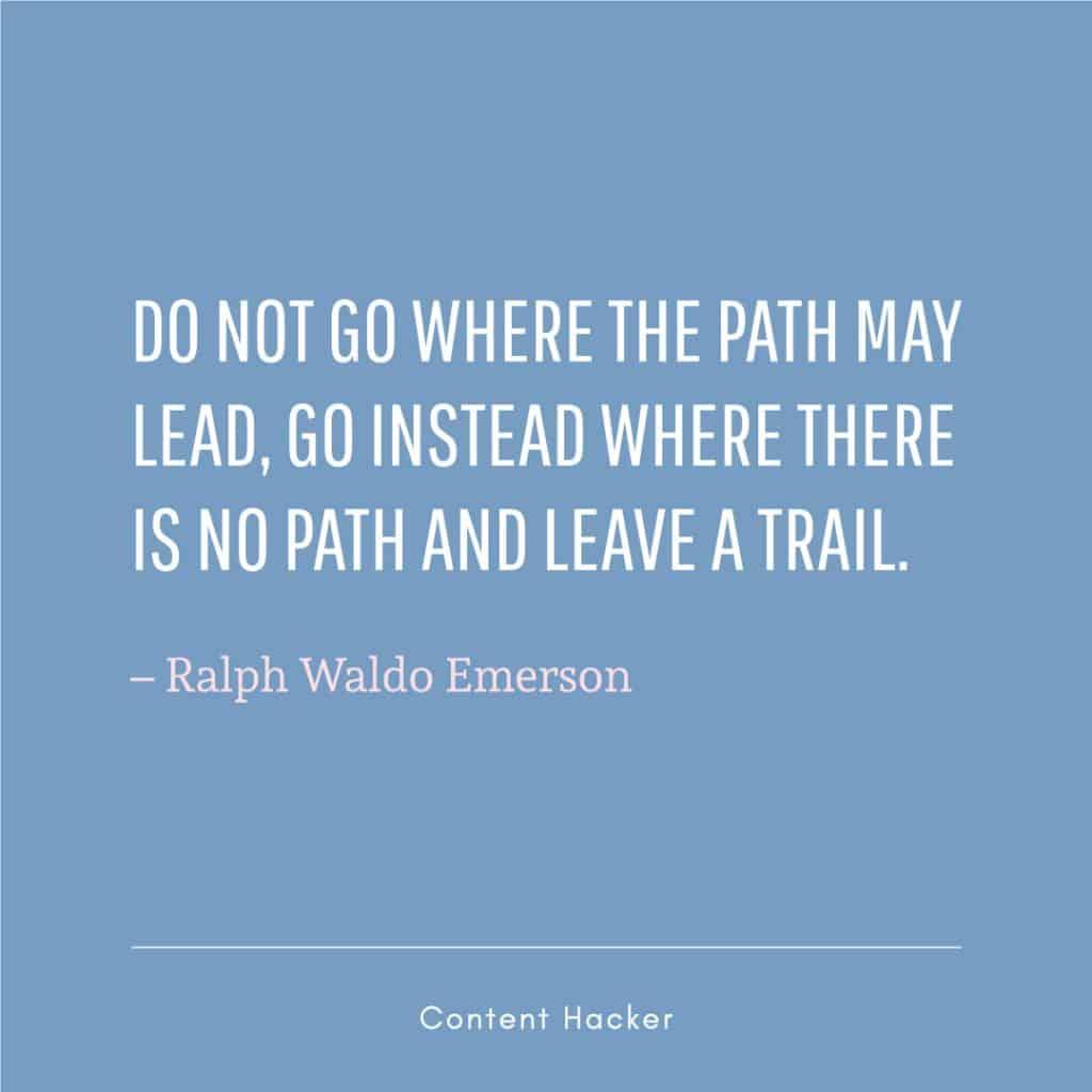 Hustle Quotes Ralph Waldo Emerson