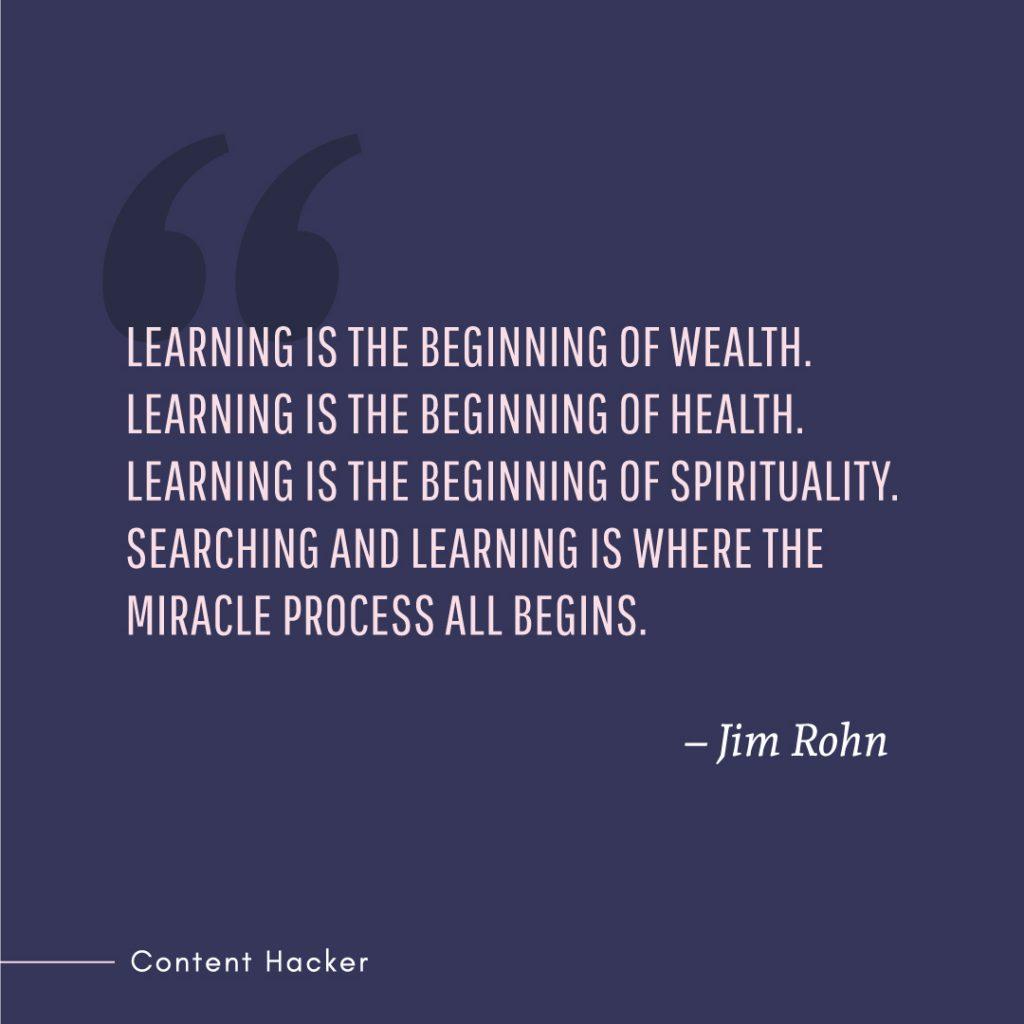 Hustle quotes Jim Rohn