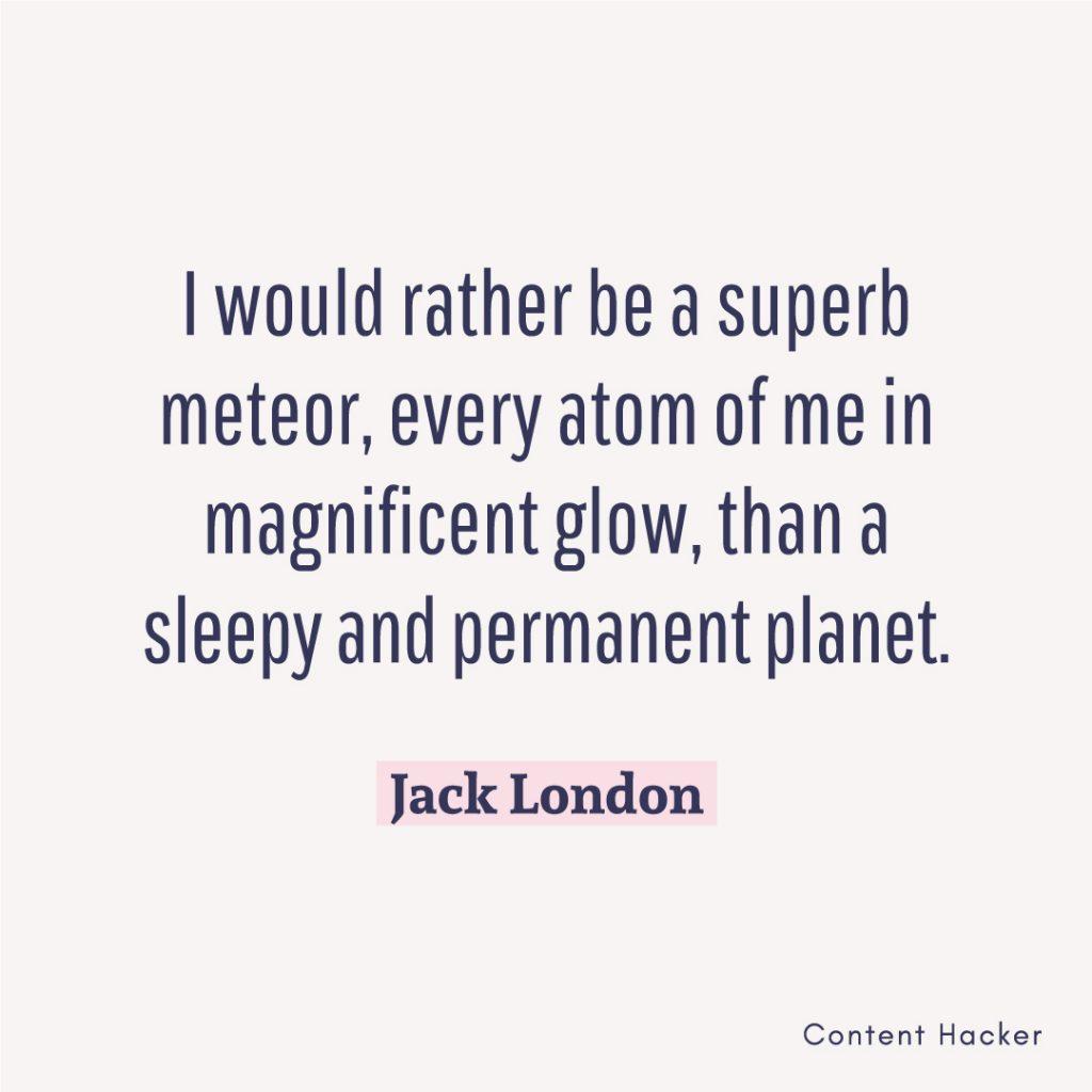 Hustle Quotes Jack London