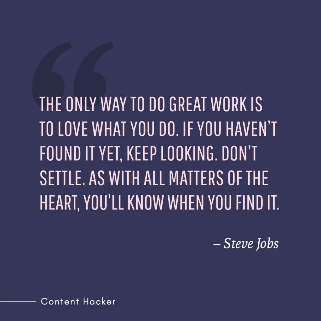 Hustle quotes Steve Jobs