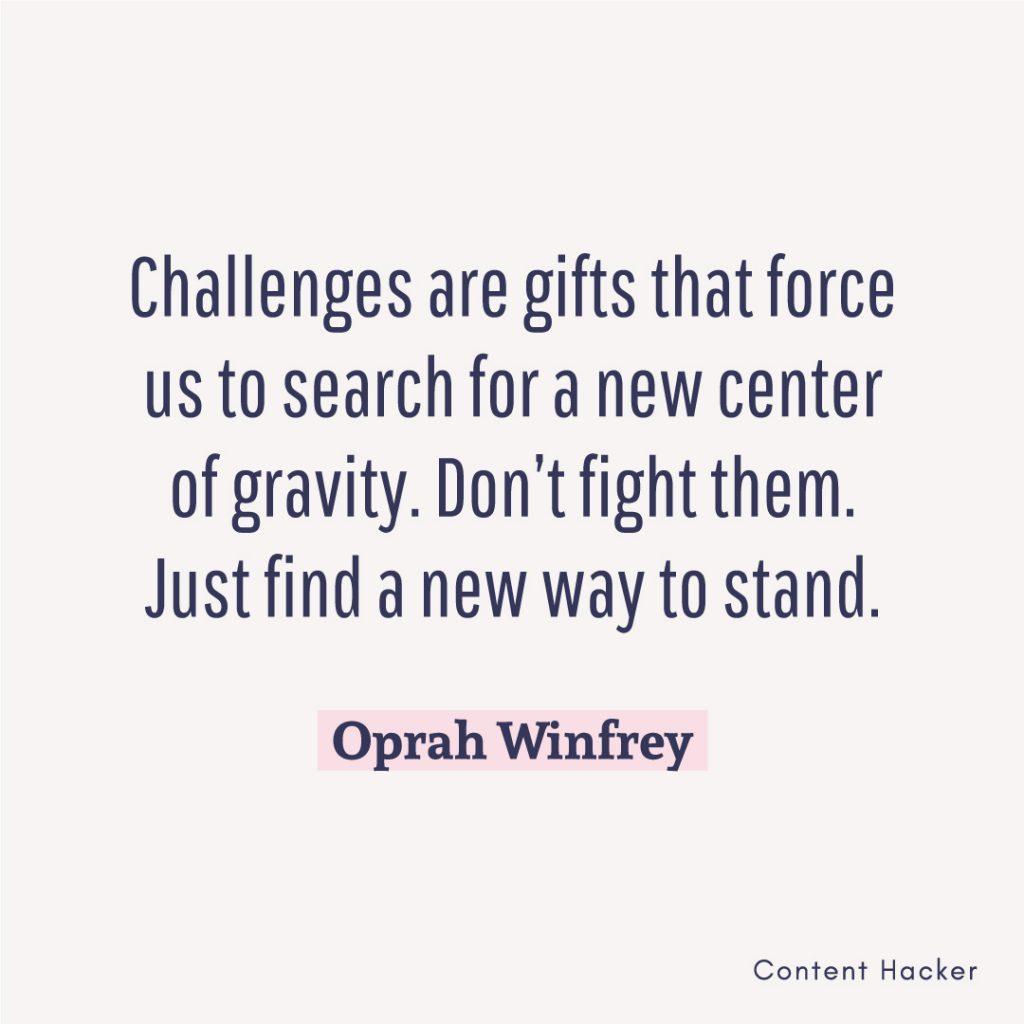 Hustle quotes Oprah Winfrey