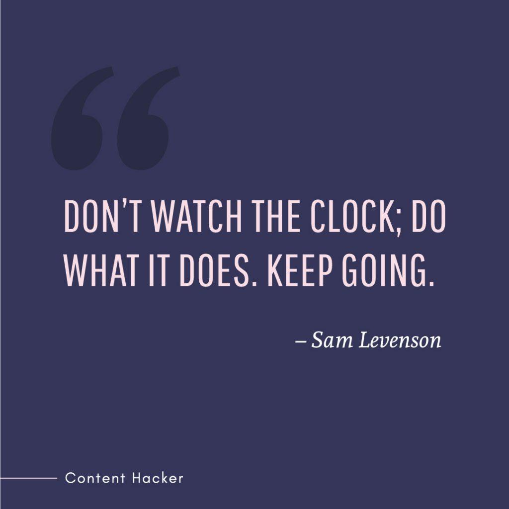 Hustle quotes Sam Levenson