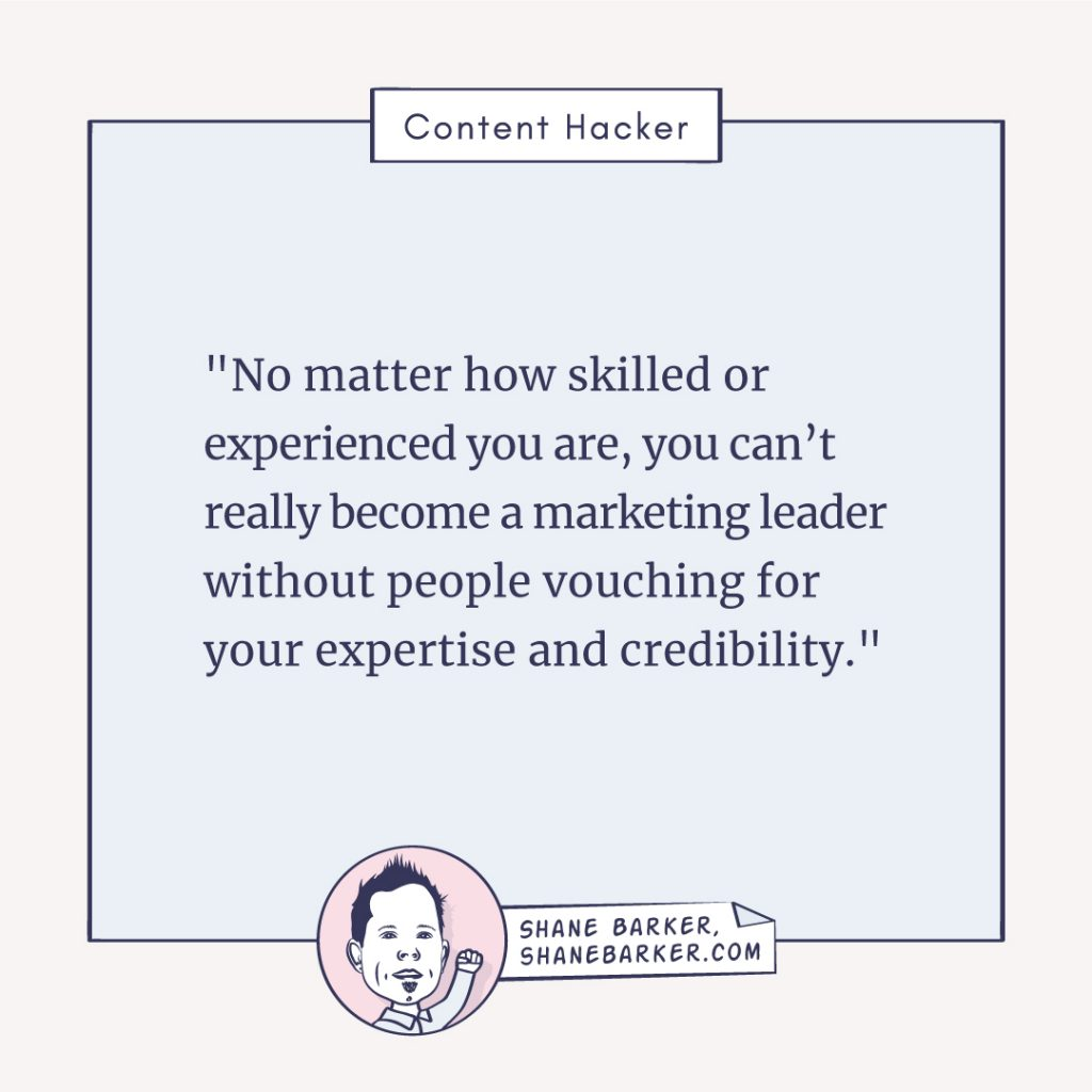 content hacker shane barker quote