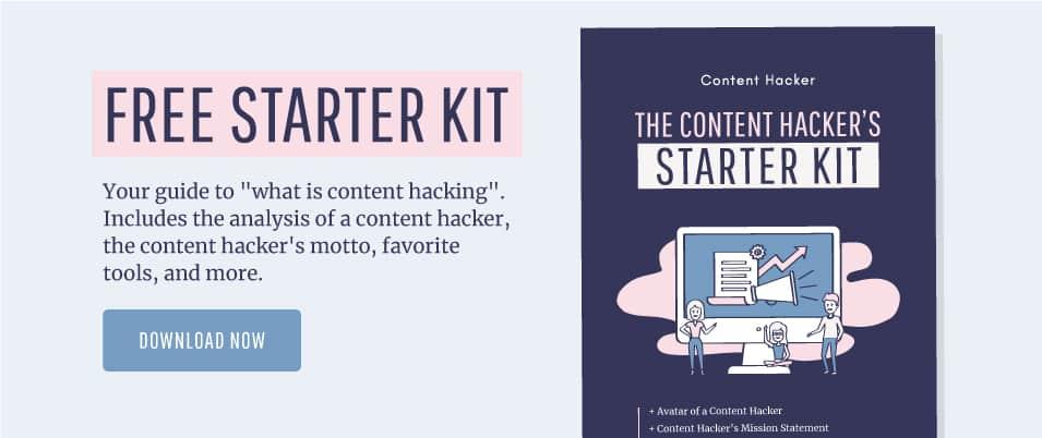 free content hacking starter kit