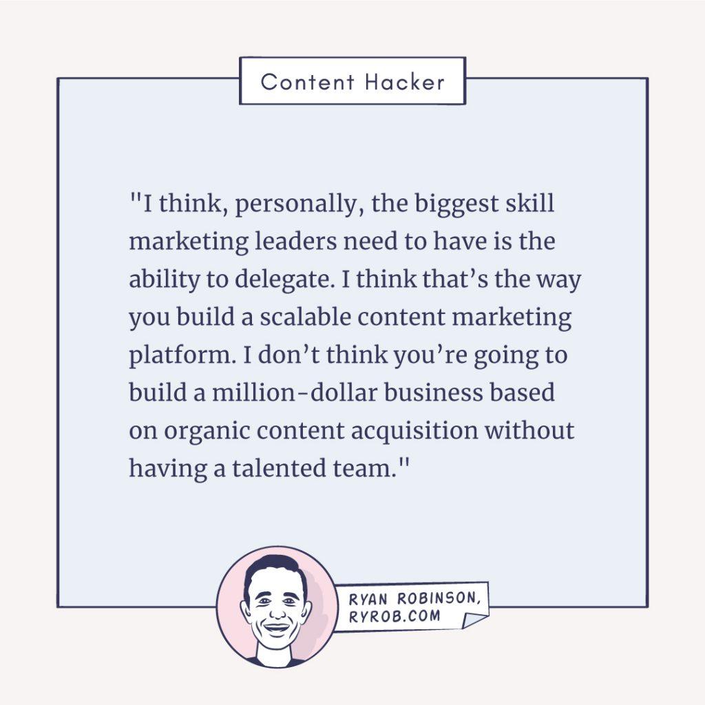 ryan robinson content marketing