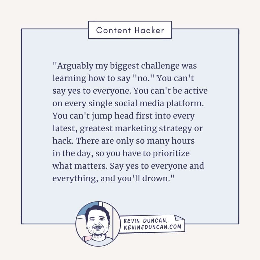 kevin duncan content hacker spotlight quote 2