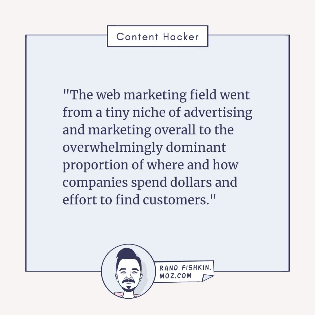 rand fishkin quote about web marketing