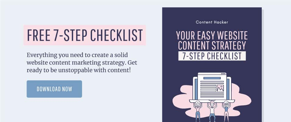 Content strategy and promotion checklist
