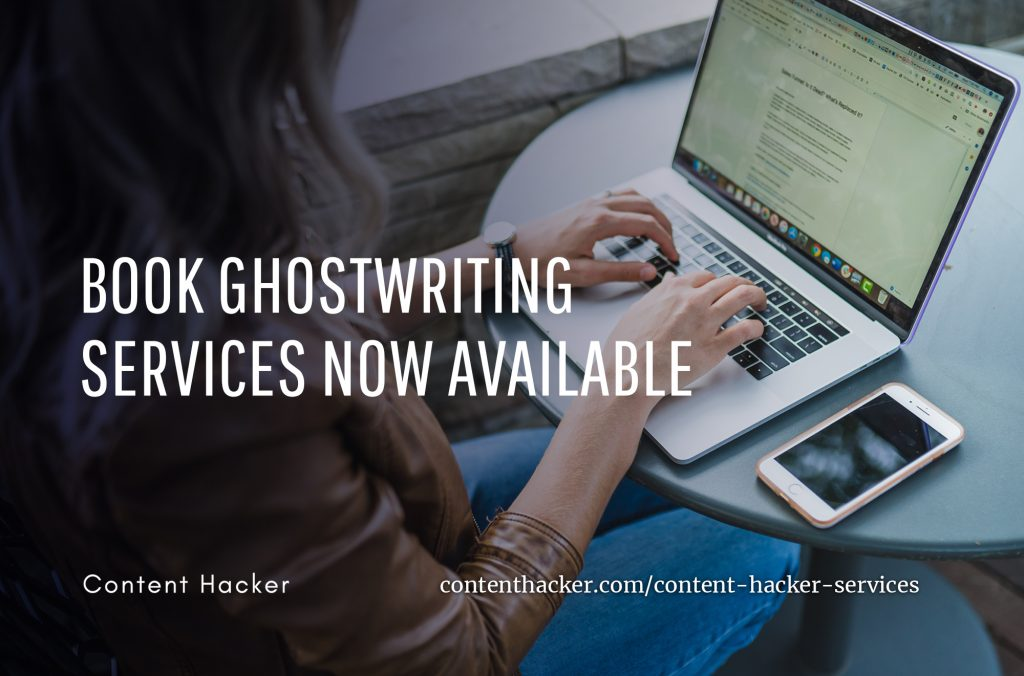 book ghostwriting