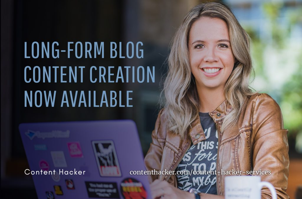 long form blog creation