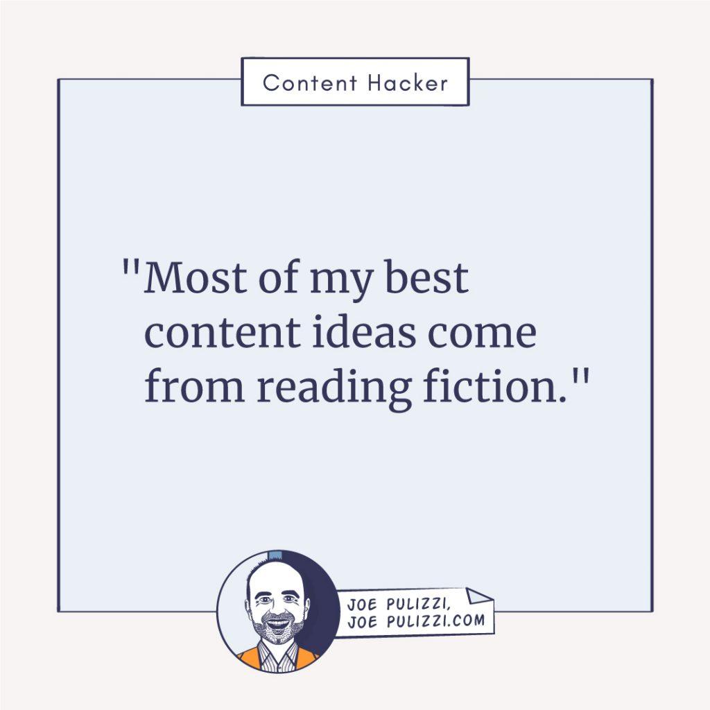Joe Pulizzi on generating content ideas