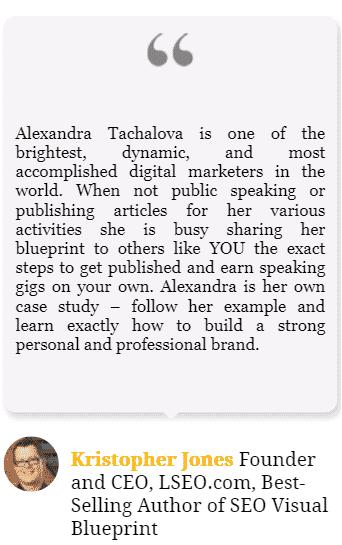 Women in marketing to follow - Alexandra Tachalova