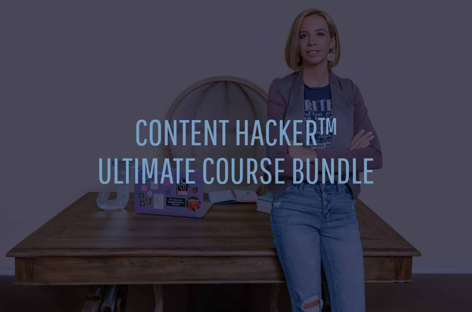content hacker course bundle