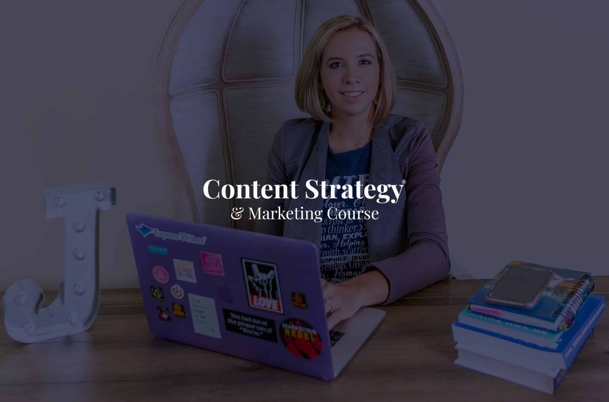 content strategy and marketing course