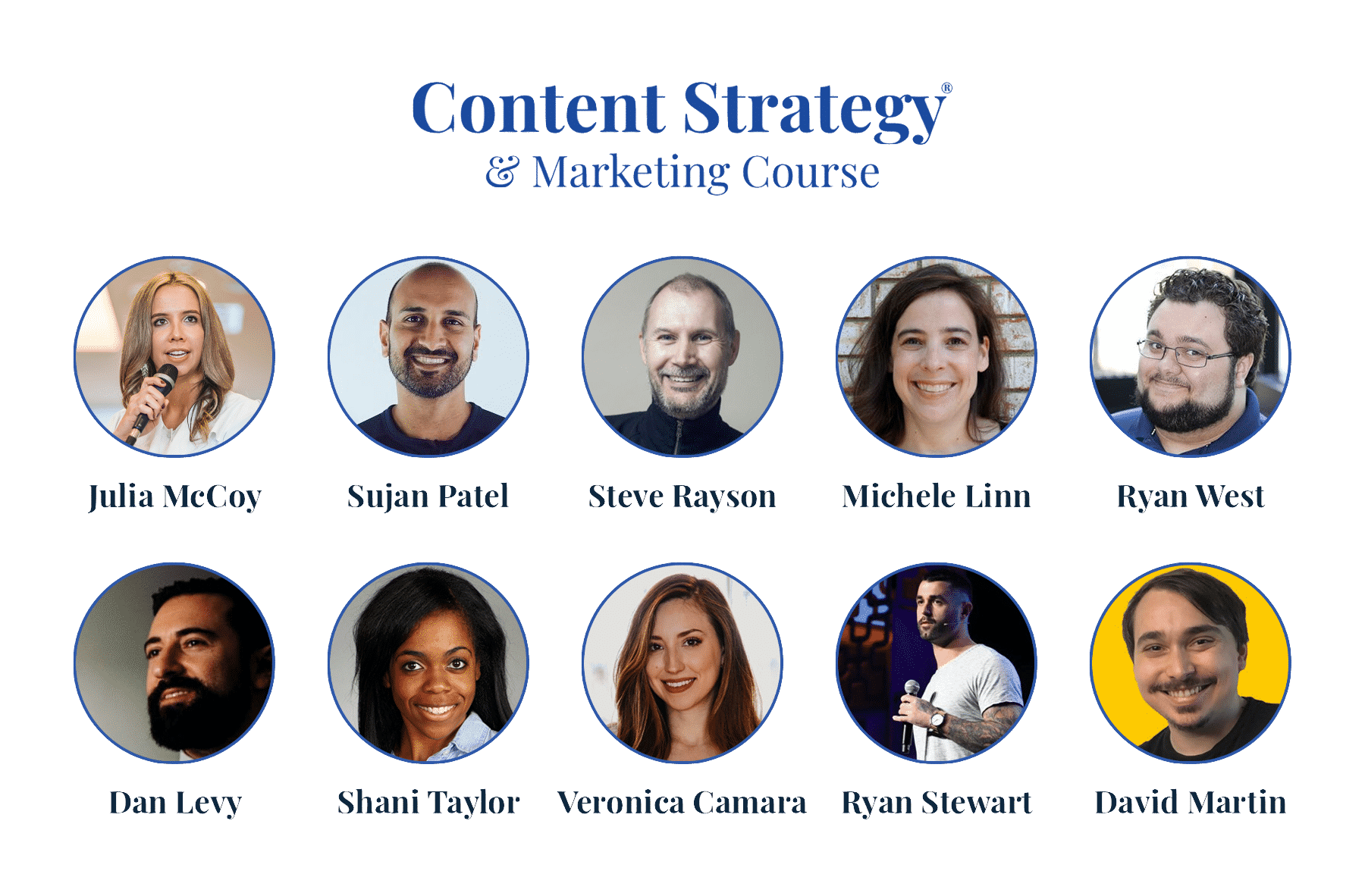 content strategy and marketing course instructors