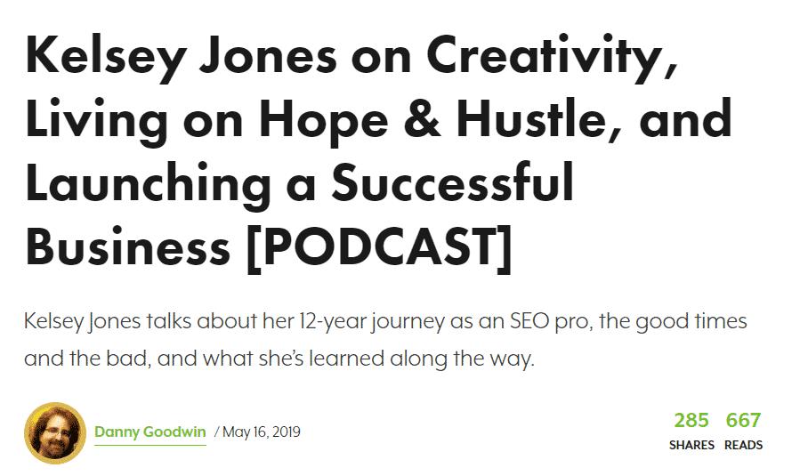 Kelsey Jones women in marketing