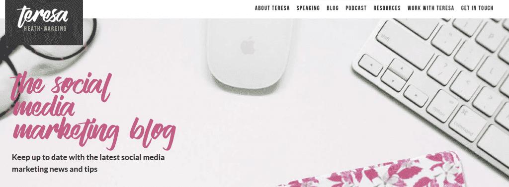 women in marketing Teresa Heath Wareing
