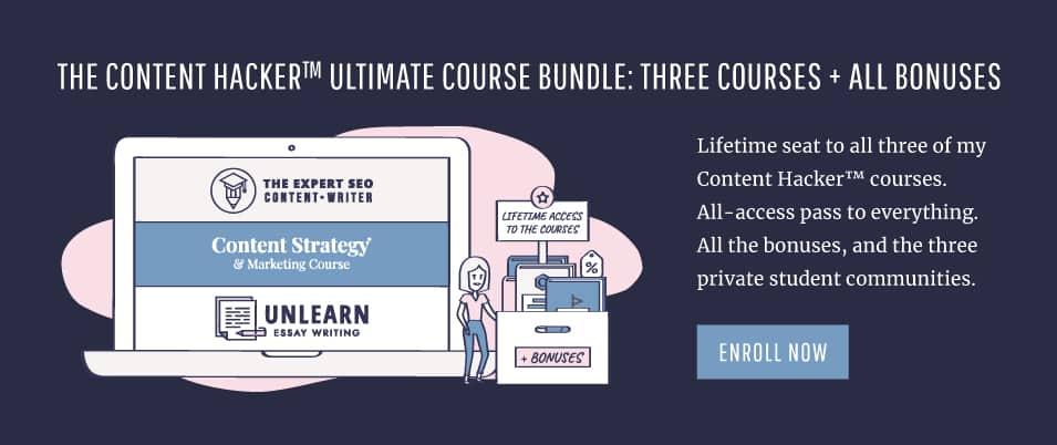 content hacker academy course bundle