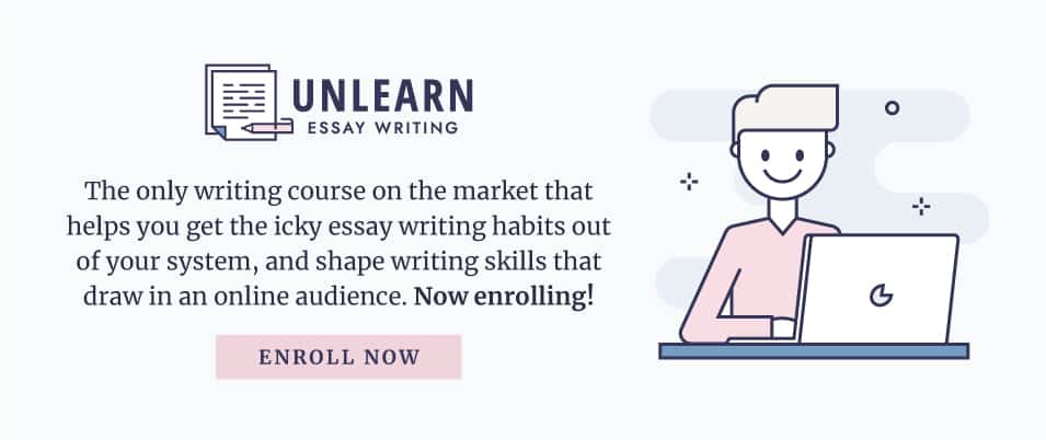 Enroll now in the new online writing course