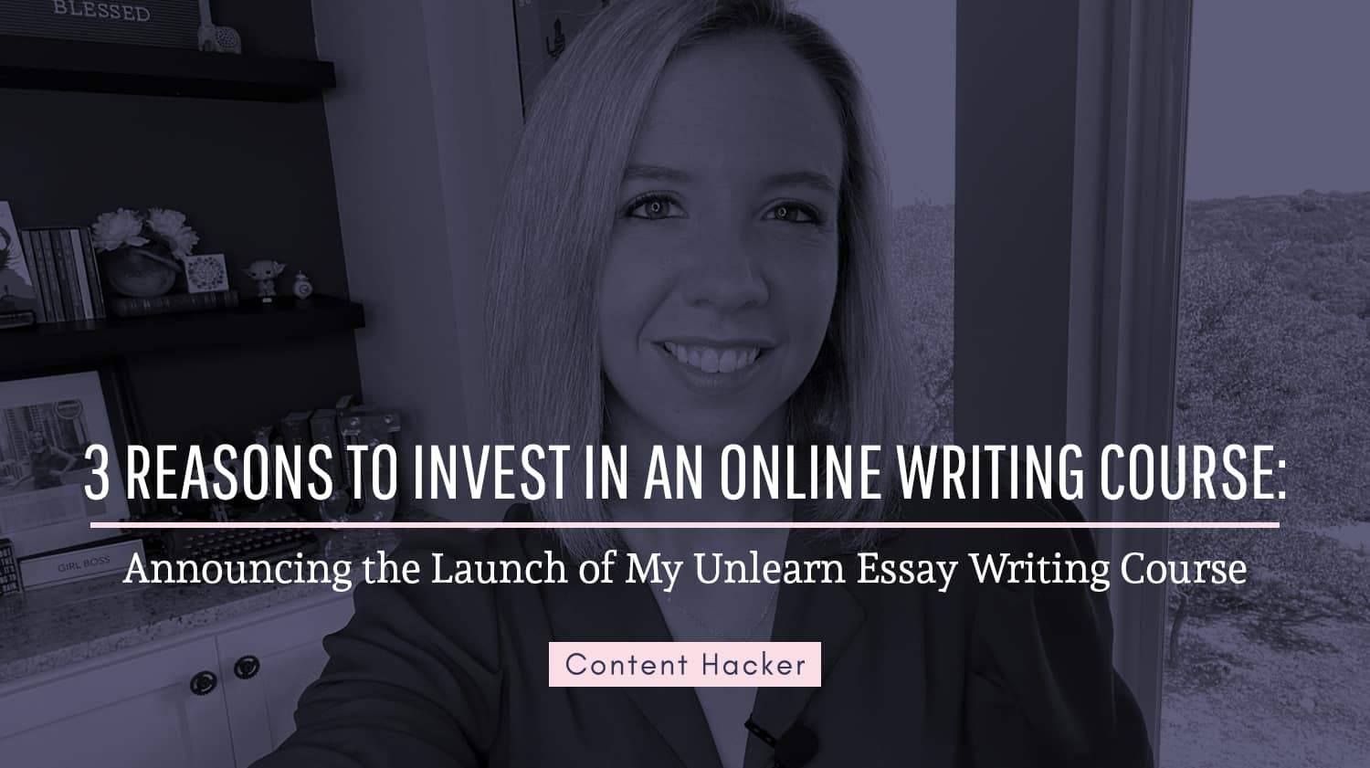 online writing course launch