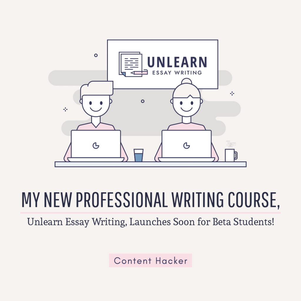 New professional writing course launches soon for beta students!