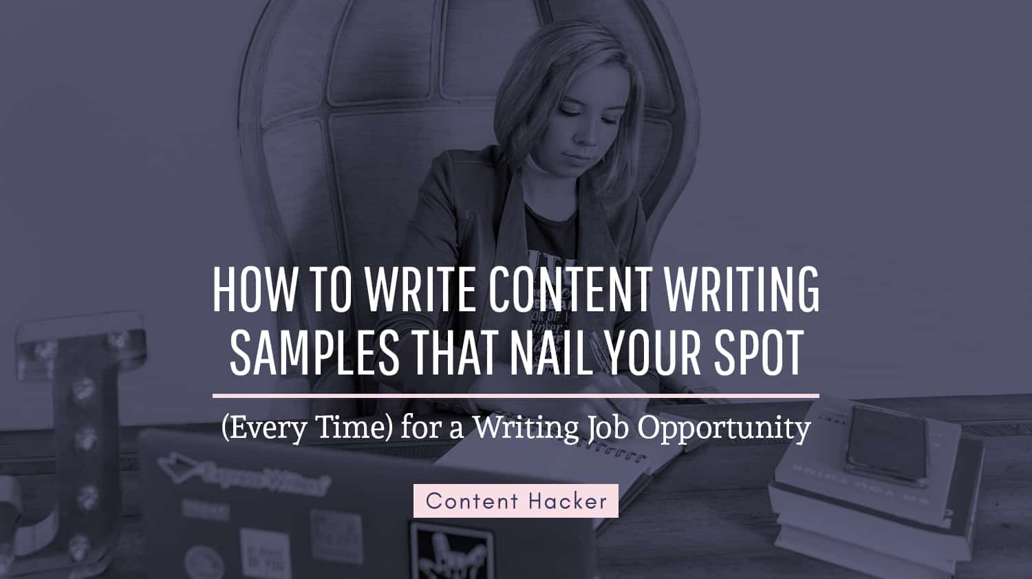 how to write content writing samples