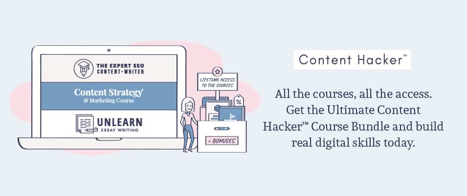 Ultimate Content Hacker Course Bundle