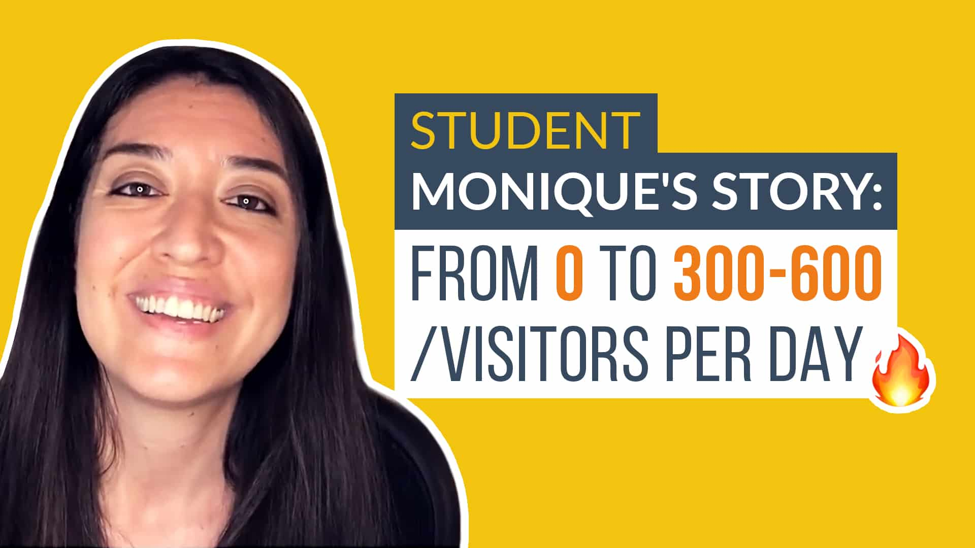 monique's testimonial for SEO content writer course