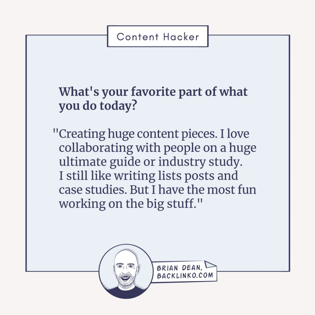 brian dean content hacker quote