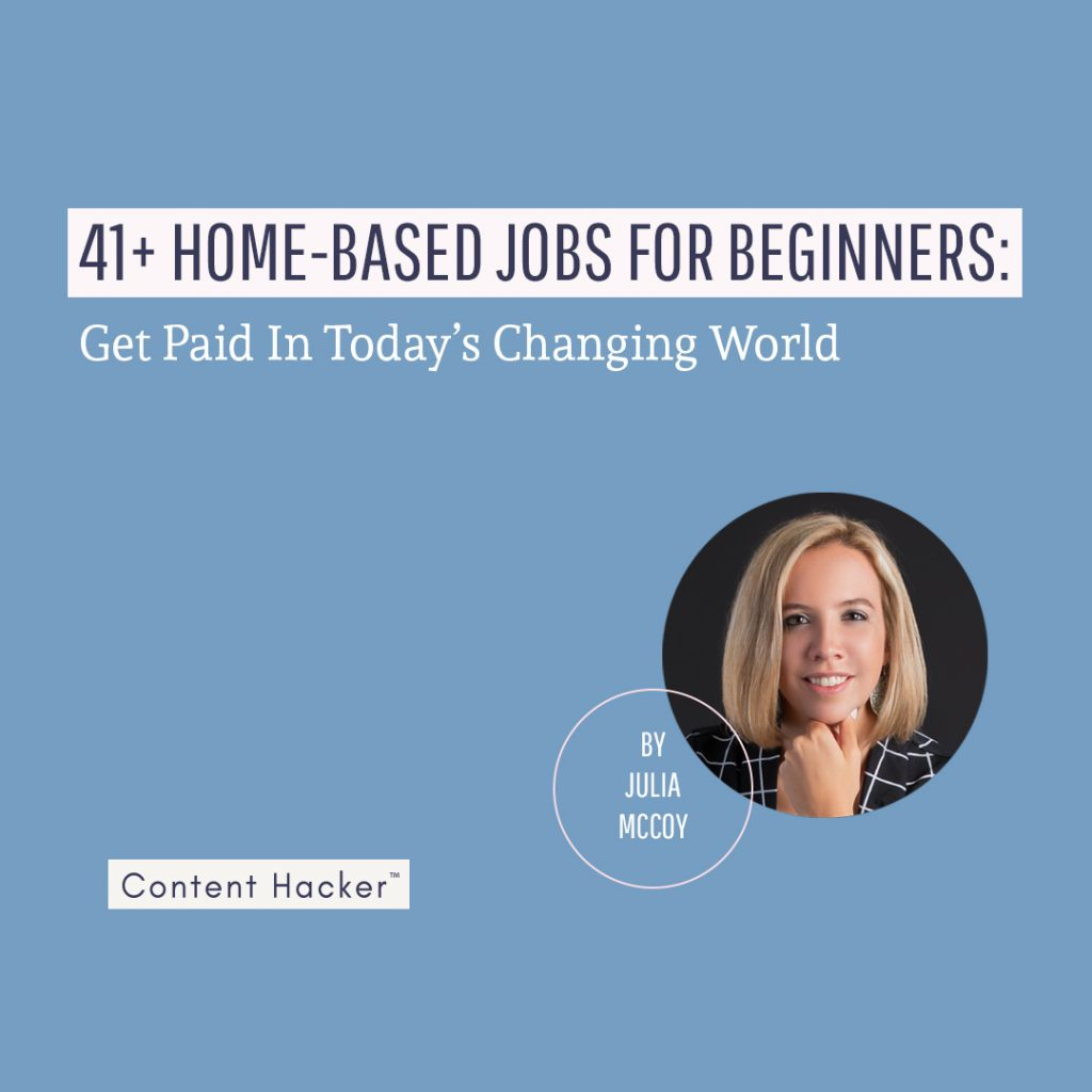 Home based jobs for beginners