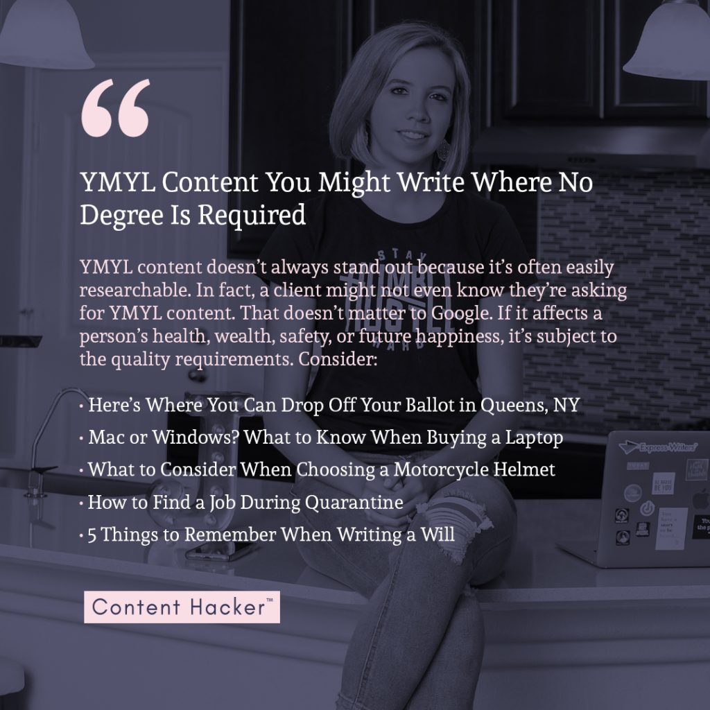 do you need a degree to be a freelance writer quote