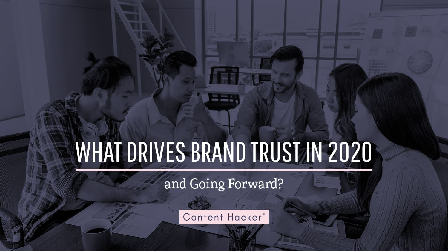 what drives brand trust