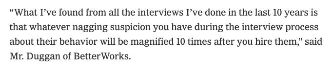 kris duggan hiring quote