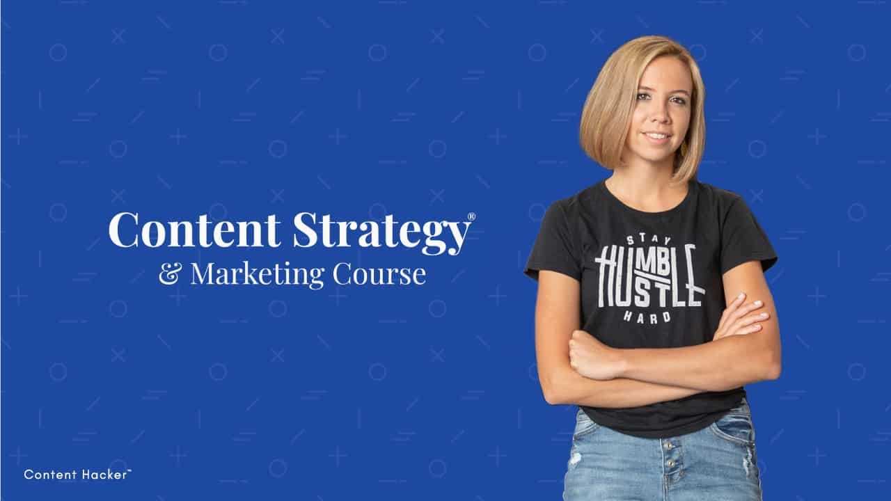 content strategy & marketing course