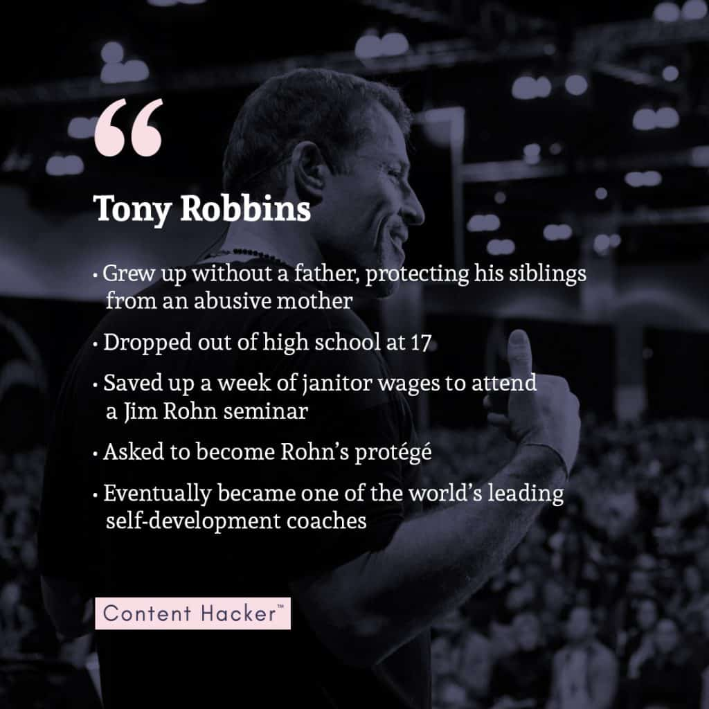get started today - tony robbins