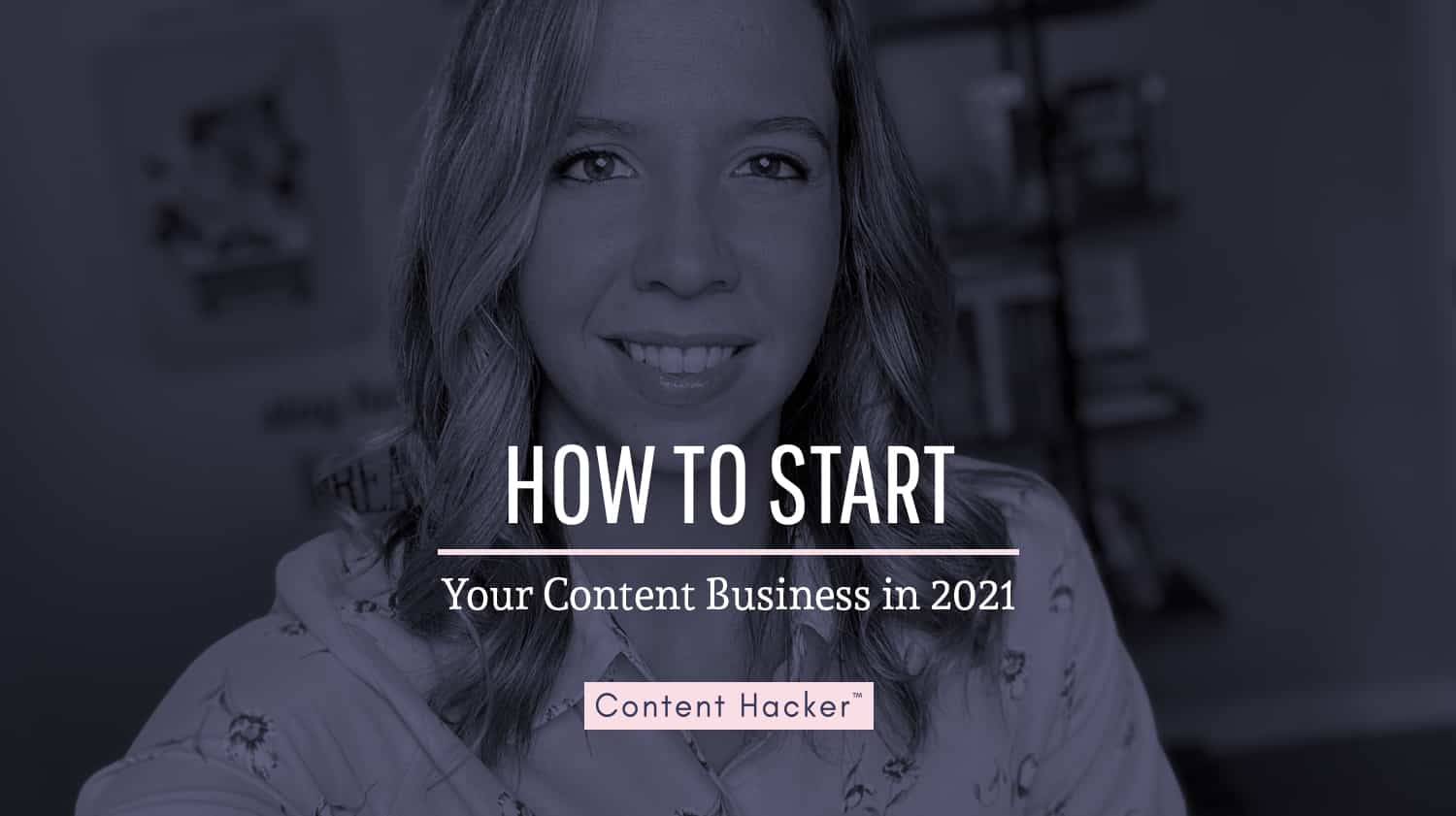 how to start your content business