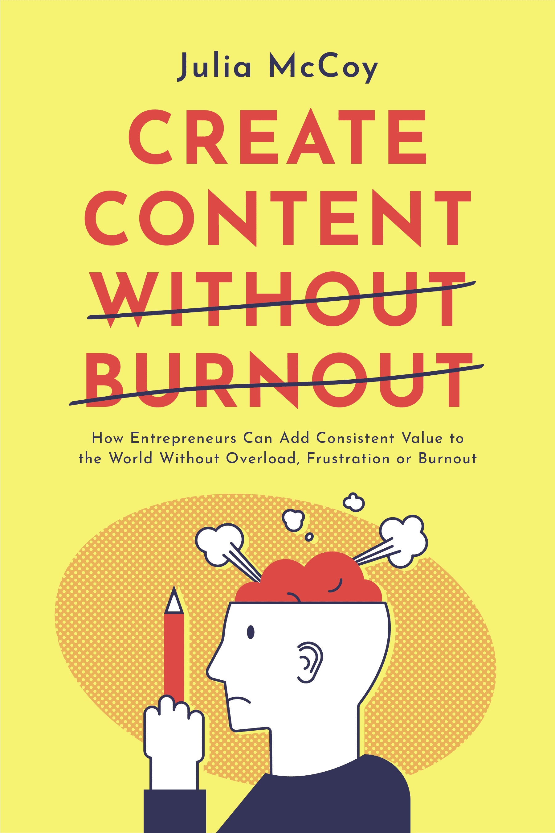 create content without burnout julia mccoy