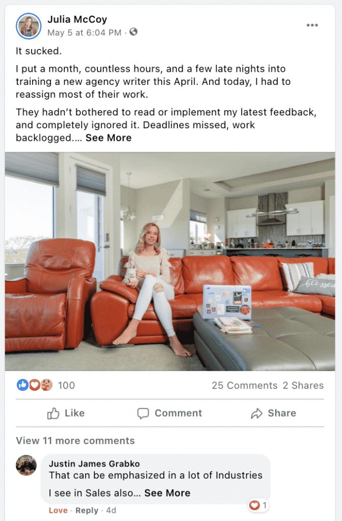 cheap marketing facebook post