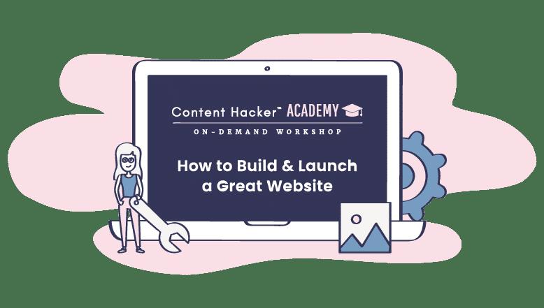 build a website workshop