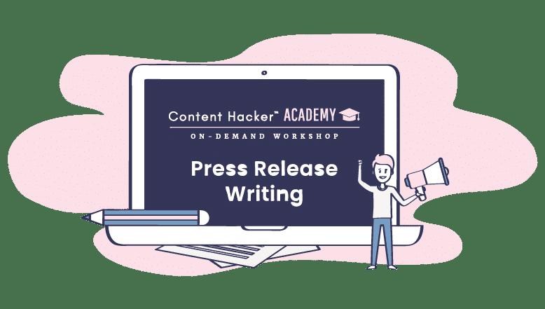 press release writing workshop