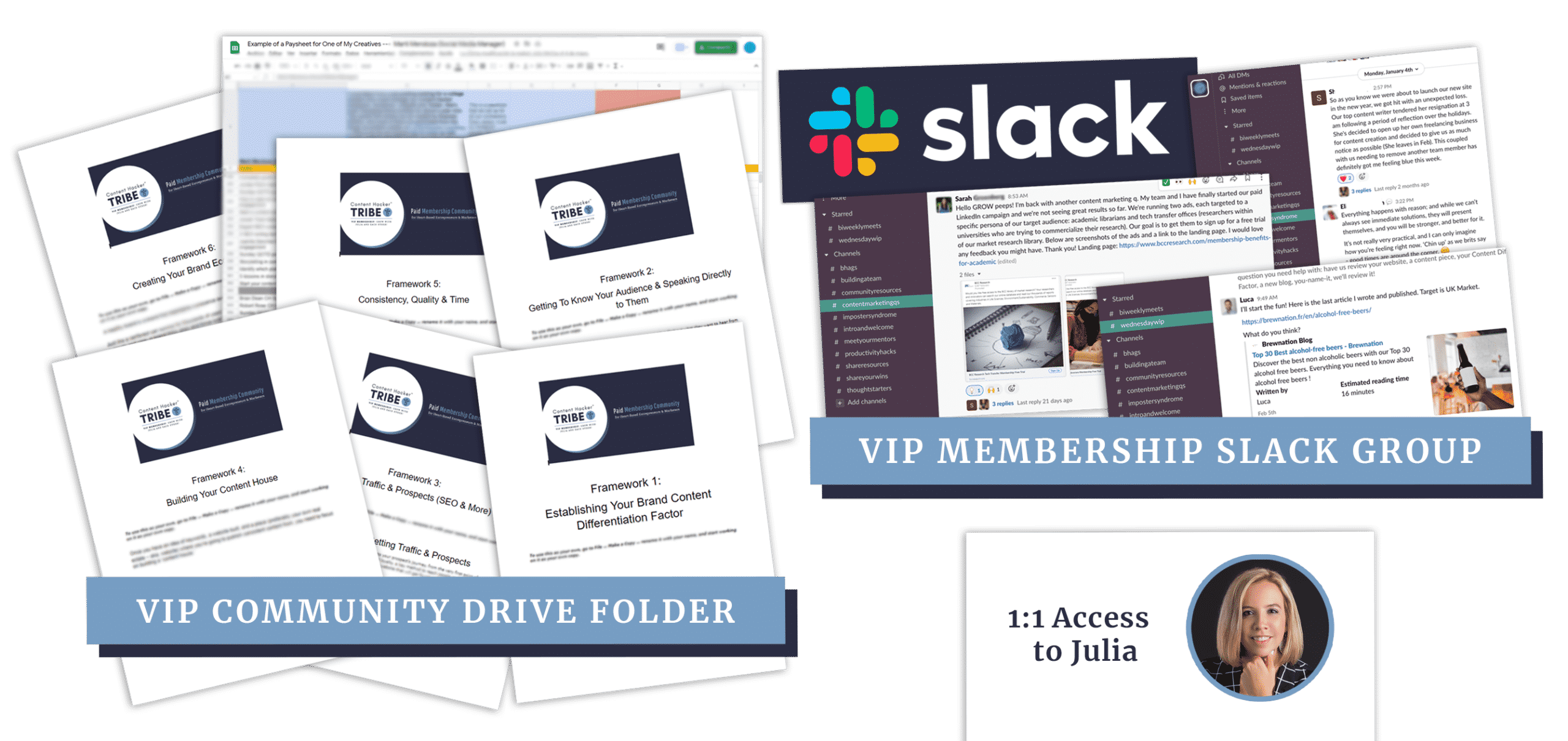 content hacker membership