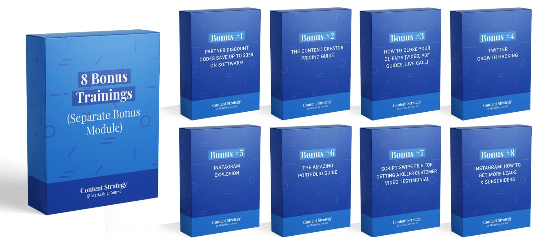 content strategy course bonuses 8