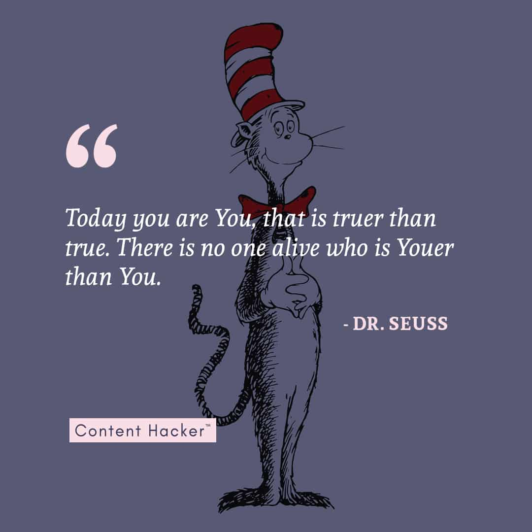 dr. seuss self worth quote