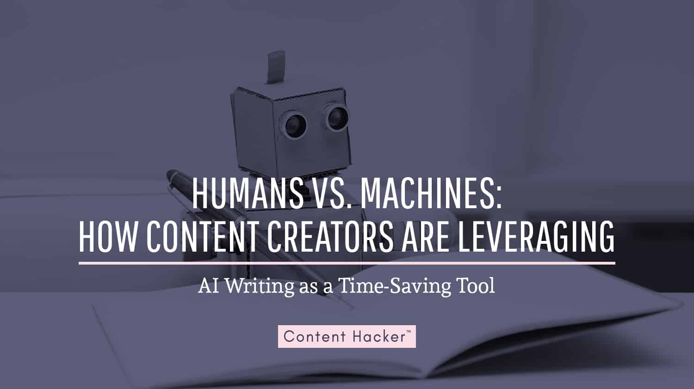 humans vs ai writing