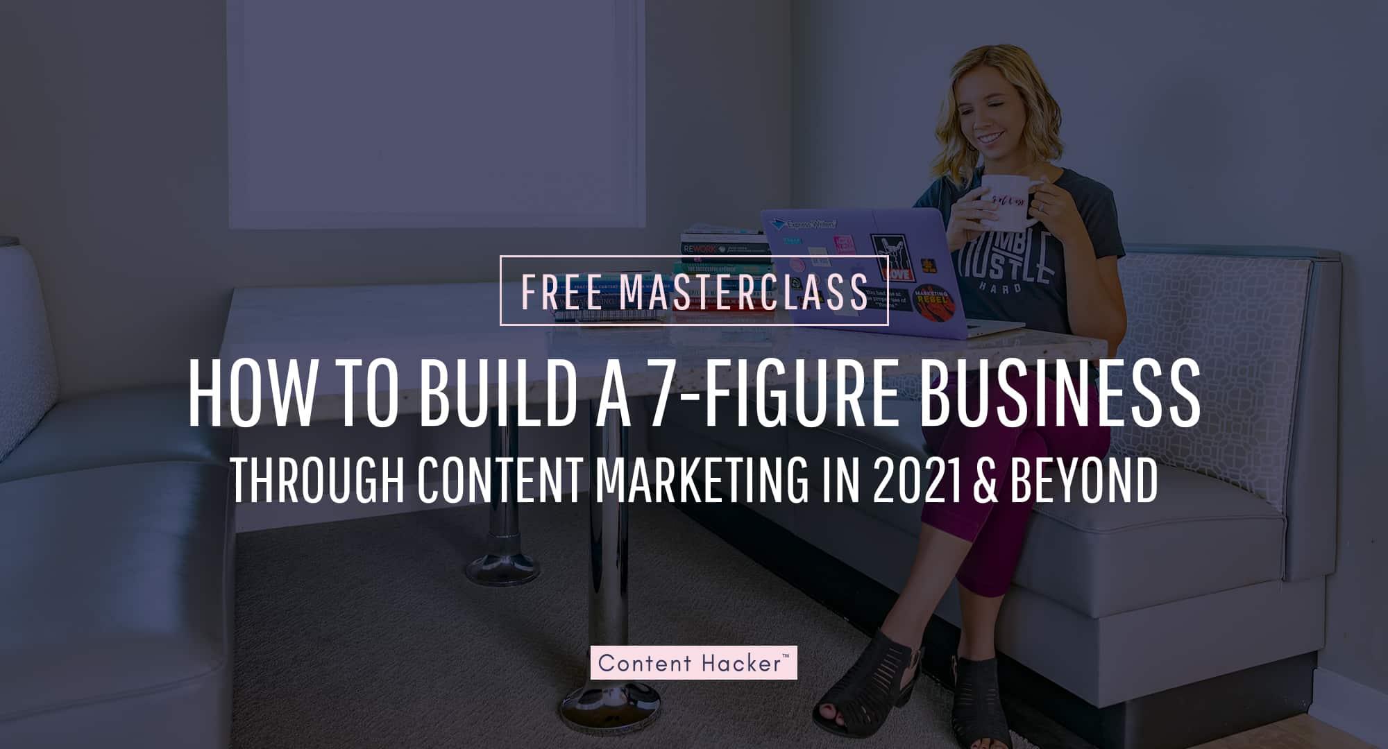free content marketing masterclass