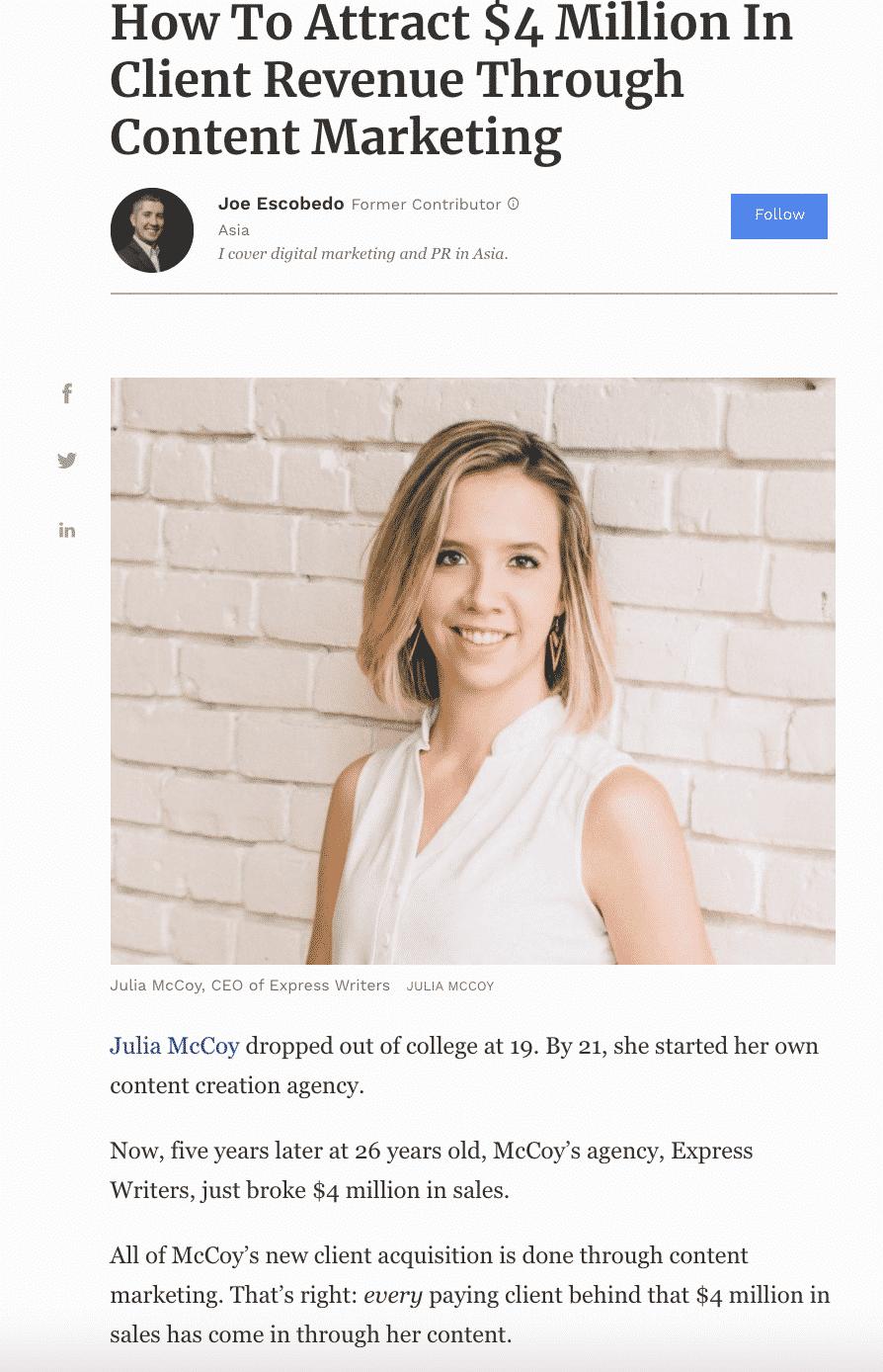 forbes julia mccoy