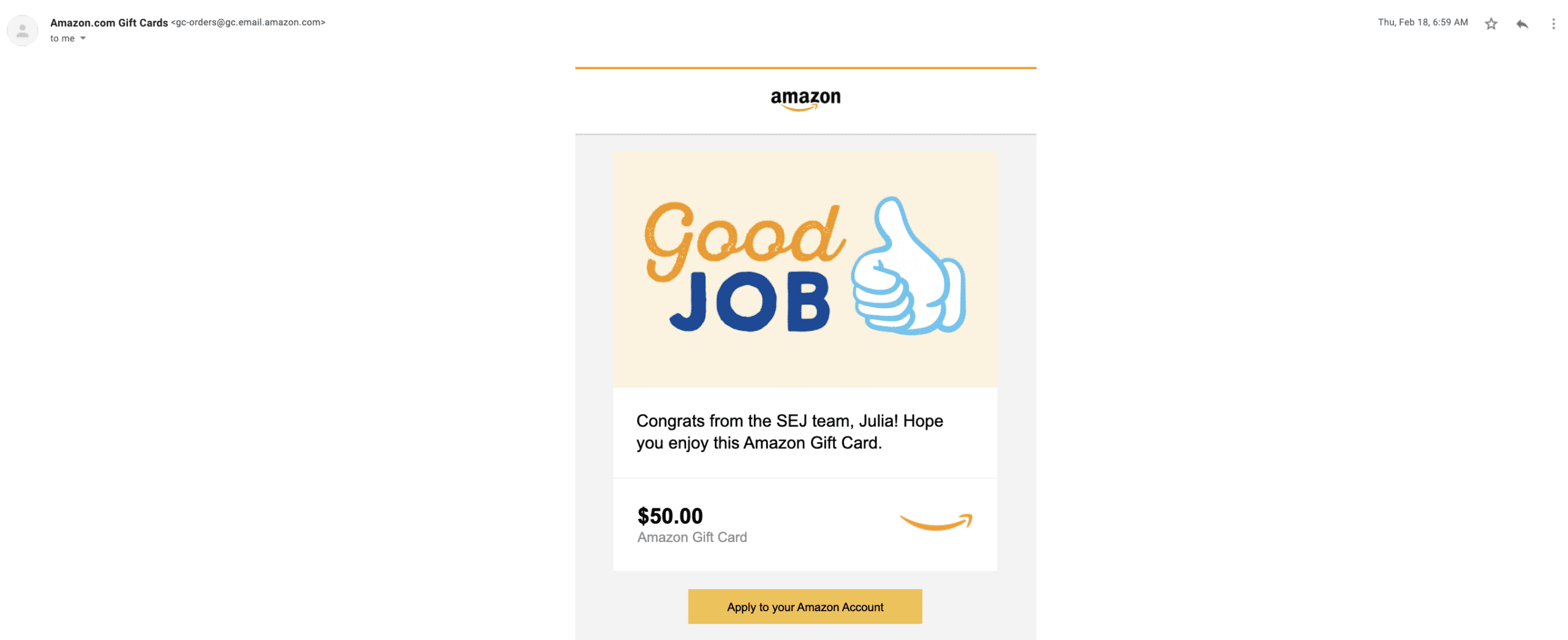 search engine journal gift card