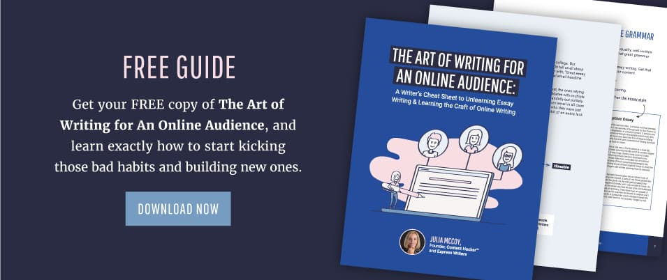 the art of writing for an online audience